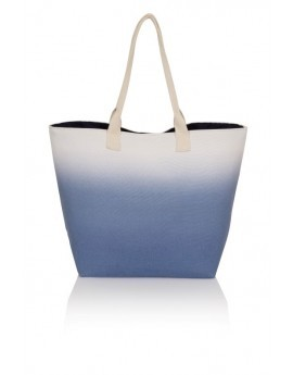 Blue Ombre Beach Bag
