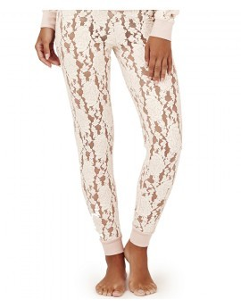 Blair Soft Lace Ice Pink Lounge Pants
