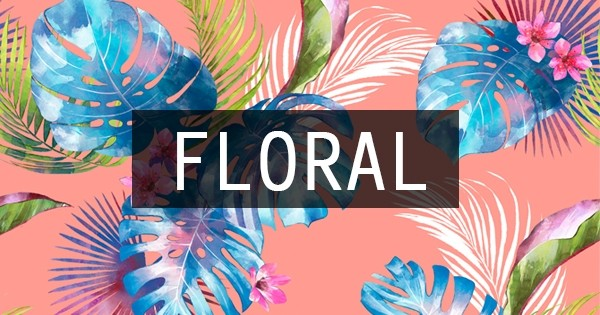 Trend: Floral