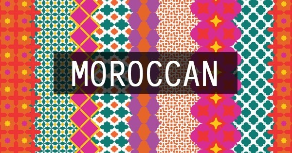Trend: Moroccan