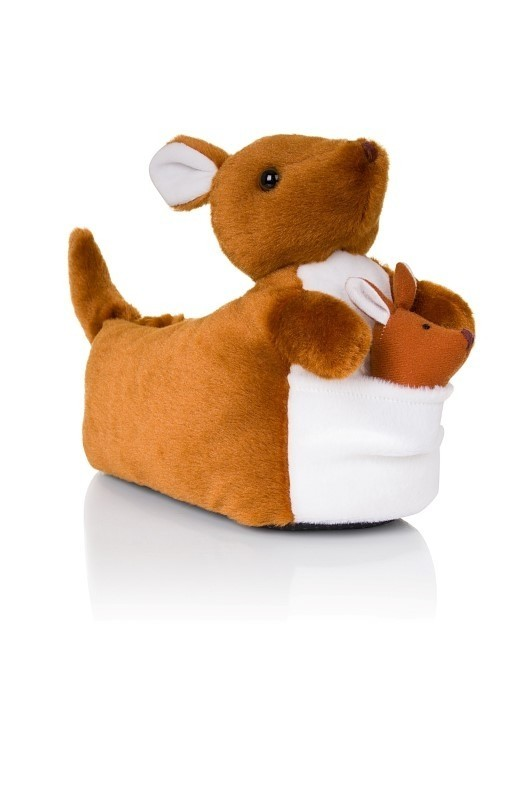 Kylie Brown Novelty Kangaroo 3D Slippers