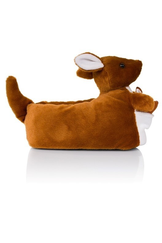 c2f1f0cd197 Kylie Brown Novelty Kangaroo 3D Slippers. ◁
