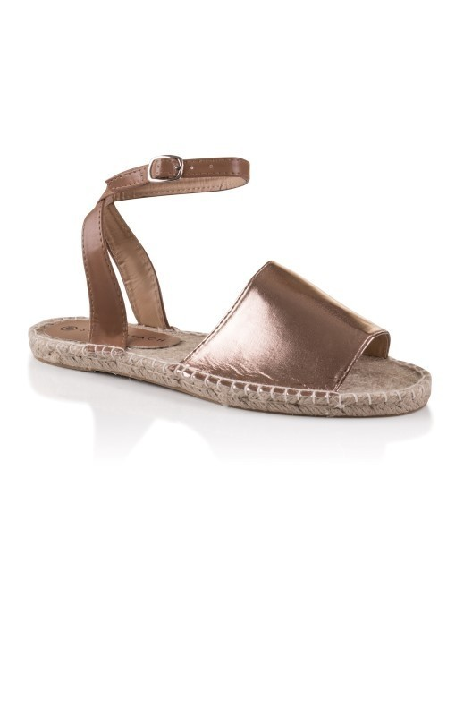 Beach Rose Gold Espadrille SandalsSouth Official txQCrdshBo