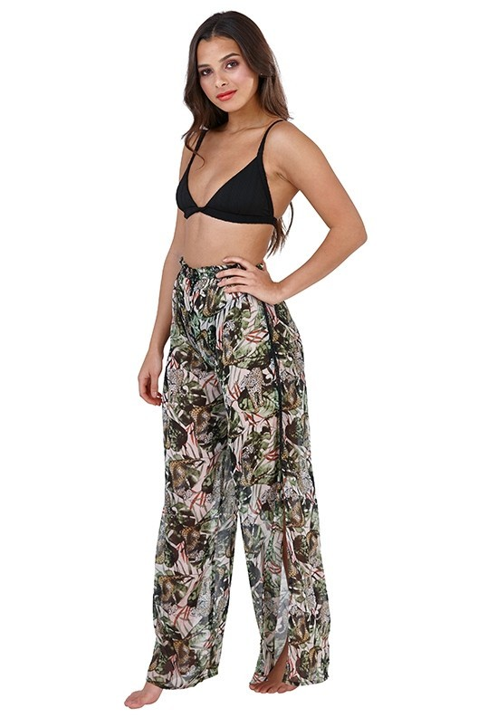 Safari Chiffon Beach Pants