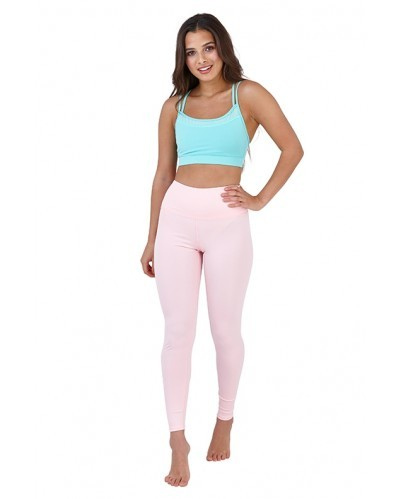 03eb743949d4a Pastel Pink High Waisted Leggings