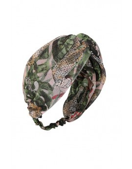 Safari Print Headband-Multicolour-One Size
