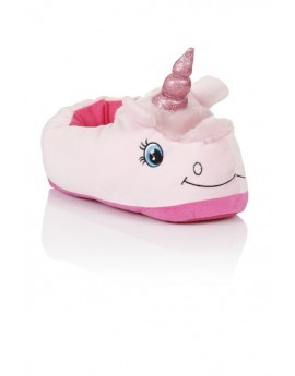 Novelty Pink Unicorn Slippers