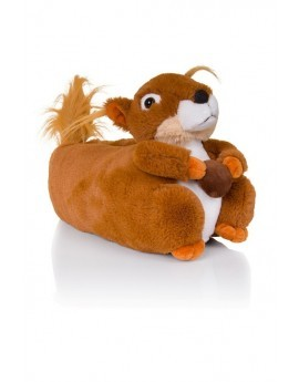 Sally Brown Novelty Squirrel 3D Slippers