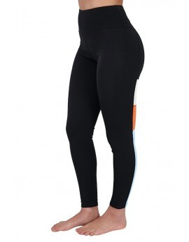 Vertical Panel Colourblock Leggings