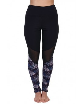 Indigo Animal Mesh Leggings