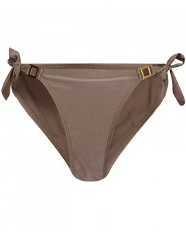 Nela Khaki Tie Side Briefs