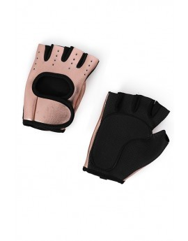 Rose Gold Weight Training Gloves