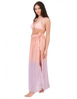 Boutique Pink & Purple Ombre Wrap Beach Sarong