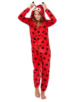 Loungeable Red 3D Novelty Ladybird Onesie