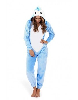 Loungeable Blue Novelty 3D Penguin Onesie