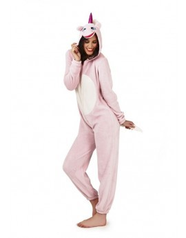 Loungeable Pink 3D Novelty Unicorn Onesie