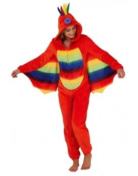 Loungeable Rainbow Parrot Novelty Onesie