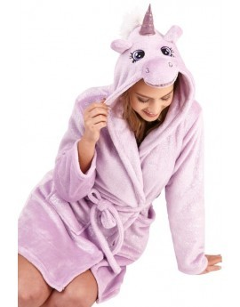 3D Lilac Sparkle Unicorn Robe