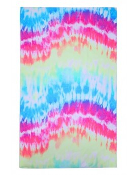 Multi-Colour Tie Dye Towel