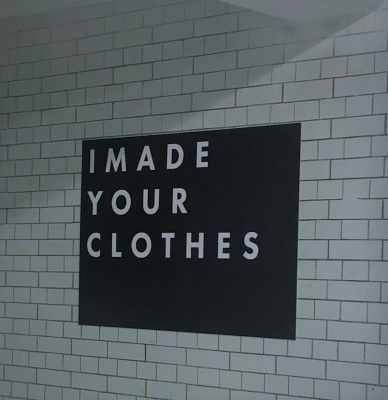Wouldn't you feel better knowing where and how your clothes were made?