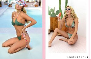SOUTH BEACH RECYCLES PLASTIC BOTTLES INTO SWIMWEAR...